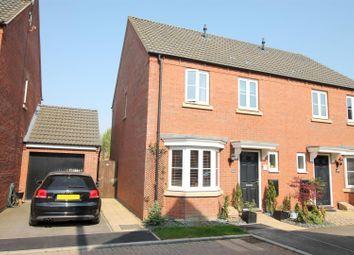 Thumbnail 3 bedroom semi-detached house for sale in Fletton End, Calvert, Buckingham