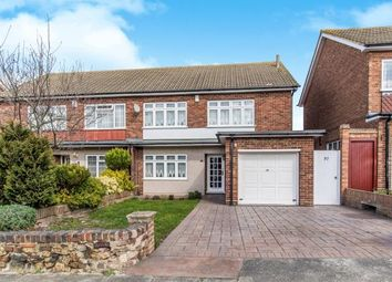 Thumbnail 3 bed semi-detached house for sale in St. Francis Avenue, Gravesend, Kent