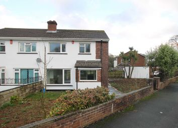 Thumbnail 3 bed semi-detached house for sale in St Erth Road, Pennycross