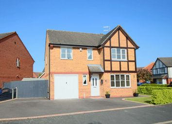 Thumbnail 4 bed detached house for sale in Jersey Crescent, Lightwood, Stoke-On-Trent