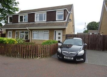 Thumbnail 3 bed semi-detached house for sale in Lynfield Place, Blakelaw, Newcastle Upon Tyne