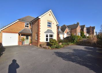 Thumbnail 4 bed detached house for sale in Brandon Road, Church Crookham, Fleet