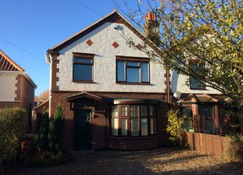 Thumbnail 3 bed semi-detached house for sale in Cromer Road, Hellesdon, Norwich
