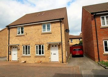 Thumbnail 2 bed semi-detached house for sale in Cottier Drive, Littleport, Ely
