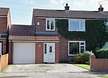 Thumbnail 3 bed semi-detached house for sale in Chaloners Road, York
