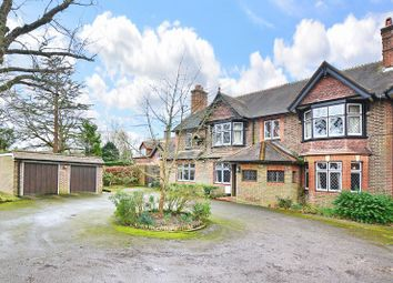Thumbnail 5 bed semi-detached house for sale in Copthorne Bank, Copthorne, Crawley