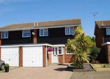 Thumbnail 4 bedroom semi-detached house for sale in Admirals Walk, South Shoebury, Essex