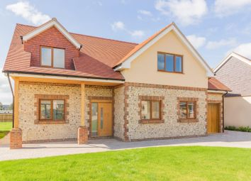 Thumbnail 4 bed detached house for sale in Dappers Lane, Angmering