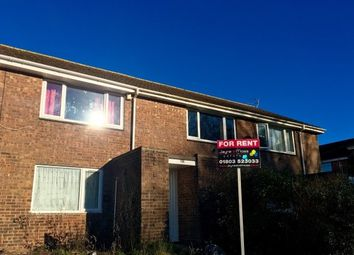 Thumbnail 2 bed flat to rent in Underidge Road, Paignton