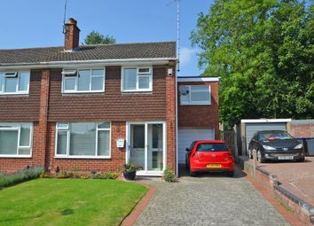 Thumbnail 4 bed semi-detached house for sale in Pantolf Place, Newbold On Avon, Rugby