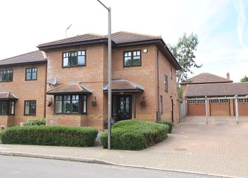 Thumbnail 4 bed detached house for sale in Garthwaite Crescent, Shenley Brook End, Milton Keynes, Buckinghamshire