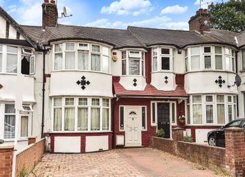 Thumbnail 3 bed terraced house for sale in Cleveley Crescent, London
