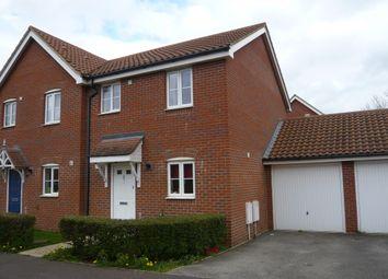 Thumbnail 3 bedroom semi-detached house for sale in Mallard End, Downham Market