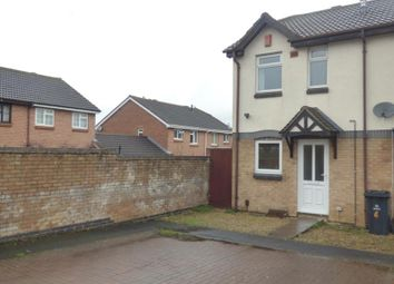Thumbnail 2 bedroom end terrace house to rent in Oakridge Close, Abbeymead, Gloucester
