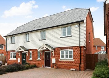 Thumbnail 3 bed semi-detached house to rent in Marshborough Road, Woodnesborough, Sandwich