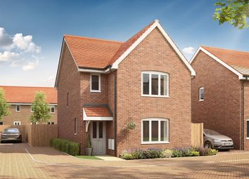"Thumbnail 3 bedroom detached house for sale in ""The Hatfield "" at Stane Street, Billingshurst"