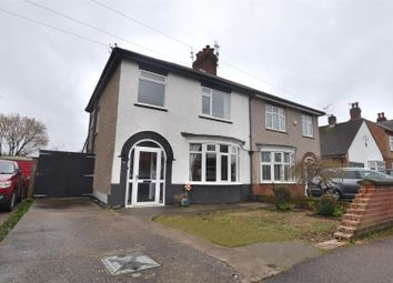 Thumbnail 3 bed semi-detached house for sale in Wallace Road, Loughborough, Leicestershire