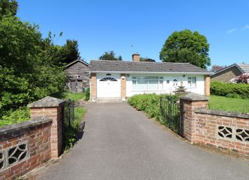 Thumbnail 3 bed detached bungalow for sale in Thelnetham Road, Hopton, Diss