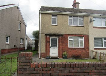 Thumbnail 2 bed semi-detached house for sale in Heol Daniel, Cwmllynfell, Swansea.