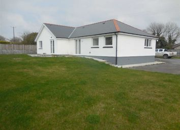 Thumbnail 3 bed bungalow for sale in Llanon, Ceredigion