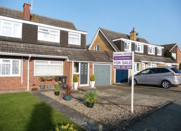 Thumbnail 3 bedroom semi-detached house for sale in Redfield Close, Dunstable
