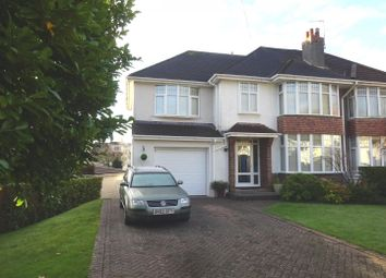 Thumbnail 4 bed semi-detached house for sale in 3 Brookvale Road, West Cross, Swansea