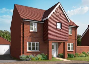 "Thumbnail 4 bed detached house for sale in ""The Canford"" at Boorley Green, Winchester Road, Botley, Southampton, Botley"