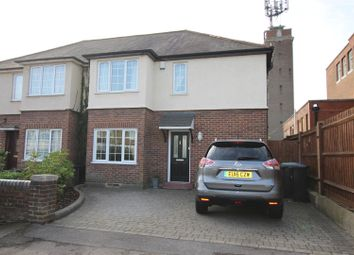 Thumbnail 3 bed semi-detached house for sale in Holtwhites Hill, Enfield