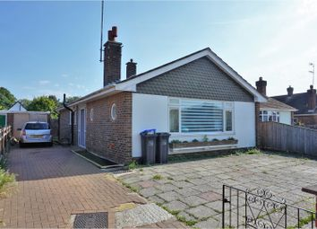 Thumbnail 2 bed detached bungalow for sale in Orchard Avenue, Worthing