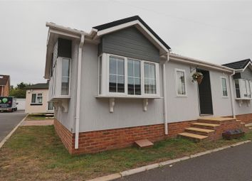 Thumbnail 2 bed mobile/park home for sale in Hill Corner Farm Caravan Park, Sandy Lane, Farnborough