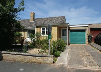 Thumbnail 2 bed semi-detached bungalow for sale in Mount Pleasant Avenue, Wells