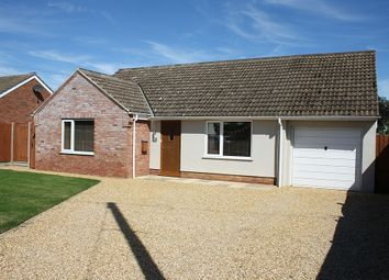 Thumbnail 3 bed detached bungalow to rent in Lancaster Close, Methwold, Thetford
