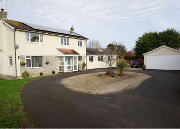 Thumbnail 4 bed detached house for sale in Cooks Lane, Banwell