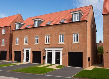 "Thumbnail 3 bedroom terraced house for sale in ""Hinton"" at Bridlington Road, Stamford Bridge, York"