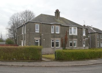 Thumbnail 2 bed flat for sale in Millburn Crescent, Dumbarton