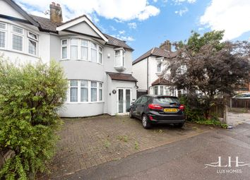 Thumbnail 4 bed semi-detached house for sale in Brentwood Road, Gidea Park, Romford