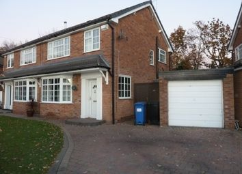 Thumbnail 3 bed semi-detached house to rent in Severn Drive, Bramhall, Cheshire