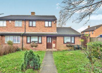 Thumbnail 4 bedroom semi-detached house for sale in Trueman Place, Oldbrook, Milton Keynes