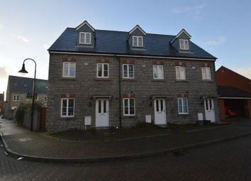 Thumbnail 3 bed town house for sale in Hestercombe Close, Weston-Super-Mare