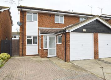 Thumbnail 3 bedroom semi-detached house for sale in Admirals Walk, Shoeburyness, Southend-On-Sea, Essex
