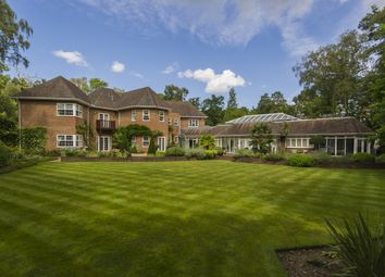 Thumbnail 6 bed detached house to rent in Eagle Lodge, Wellington Avenue, Virginia Water