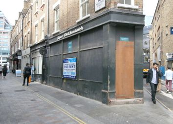 Retail premises to let in Widegate Street, London E1