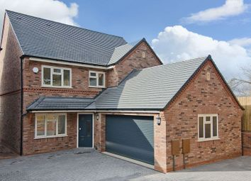Thumbnail 5 bed detached house for sale in Rugeley Road, Hazel Slade, Cannock