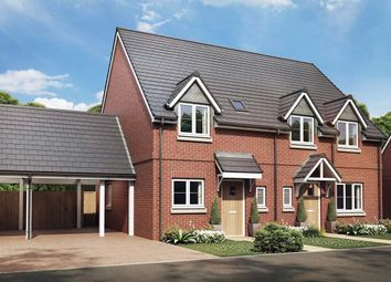 Thumbnail 2 bed semi-detached house for sale in The Lilac, Owsla Park, Bloswood Lane, Whitchurch, Hampshire