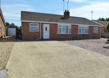 Thumbnail 3 bed semi-detached bungalow for sale in Falklands Drive, Wisbech