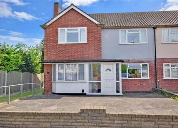 Thumbnail 2 bed maisonette for sale in Shrublands Close, Chigwell, Essex