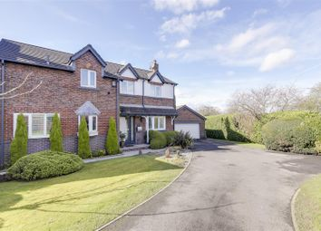 Thumbnail 4 bedroom detached house for sale in Farmstead Close, Woodhouses, Manchester