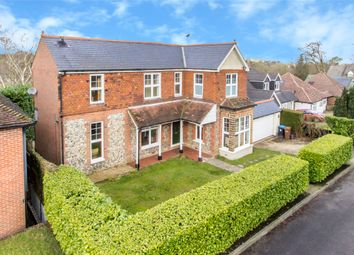 Thumbnail 4 bed detached house for sale in Paynesfield Road, Tatsfield, Westerham, Surrey
