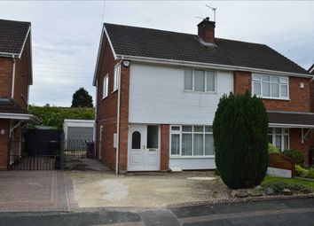 Thumbnail 3 bed semi-detached house for sale in Helming Drive, Danehurst, Wolverhampton