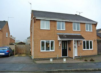 Thumbnail 3 bed semi-detached house for sale in Stretham Way, Bourne, Lincolnshire